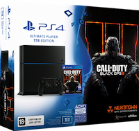 PS4 Sony 1TB+Call of Duty Black Ops III - выгодно!