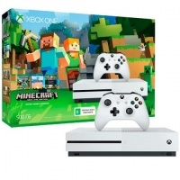 Игровая консоль Xbox One Microsoft Xbox One S 500 Gb + Minecraft (ZQ9-00048)>