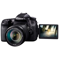 Зеркальный фотоаппарат Canon EOS 70D (W) EF-S 18-135 IS STM Kit>