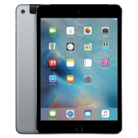 Apple iPad mini 4 128Gb Wi-Fi+Cellular Space Gray/Черный (MK762RU/A)>