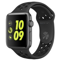Apple Watch Nike+ 42mm Space Gray Al/Black (MQ182RU/A)>