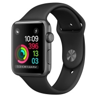 Apple Watch S1 Sport 42mm Sp.Grey Al/Black (MP032RU/A)>