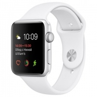 Смарт-часы Apple Watch S1 Sport 38mm Silver Al/White (MNNG2RU/A)>