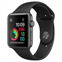Apple Watch S1 Sport 38mm Sp.Grey Al/Black (MP022RU/A)>