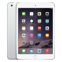 Apple iPad mini 3 with Retina display 128Gb Wi-Fi+Cellular Silver/Белый (MGJ32RU/A)>