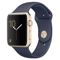 Apple Watch S1 Sport 42mm Gold Al/Blue (MQ122RU/A)>