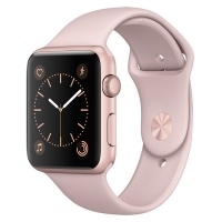 Apple Watch S1 Sport 42mm Rose Gold Al/Pink (MQ112RU/A)>