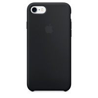 Кейс для iPhone Apple iPhone 7 Silicone Case Black (MMW82ZM/A)>