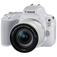 Фотоаппарат зеркальный Canon EOS 200D Kit EF-S 18-55 IS STM White>