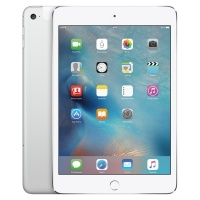 Apple iPad mini 4 16Gb Wi-Fi+Cellular Silver/Cеребристый (MK702RU/A)>