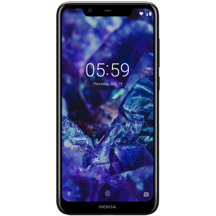 Смартфон Nokia 5.1 Plus 32GB Blue (TA-1105)