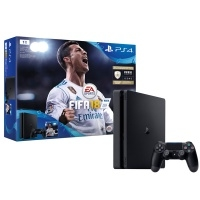 Игровая консоль PlayStation 4 Slim 1Tb + FIFA 18 + Подписка PS Plus 14 дней. (CUH-2108B)>