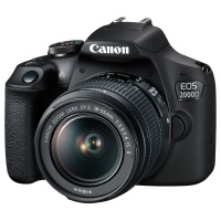 Фотоаппарат зеркальный Canon EOS 2000D Kit EF-S 18-55 IS II>