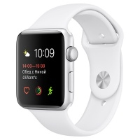 Apple Watch S1 Sport 42mm Silver Al/White (MNNL2RU/A)>