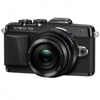 Фотоаппарат системный Olympus E-PL7 Pancake Zoom Kit Black>