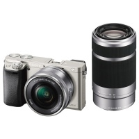 Фотоаппарат системный Sony Alpha A6000 Kit 16-50 / 55-210 Silver>