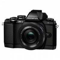 Фотоаппарат системный Olympus E-M10 Pancake Zoom Kit Black>